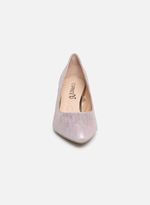 Zapatos de tacón Caprice Sarina Rosa vista del modelo
