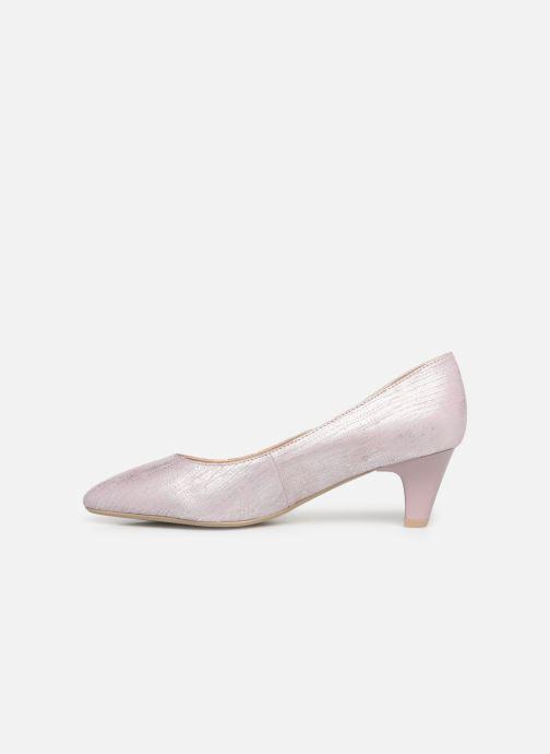 Zapatos de tacón Caprice Sarina Rosa vista de frente
