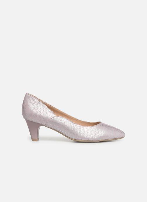 Zapatos de tacón Caprice Sarina Rosa vistra trasera