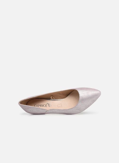 Zapatos de tacón Caprice Sarina Rosa vista lateral izquierda
