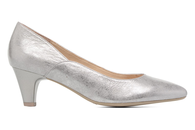 High heels Caprice Sarina Silver back view