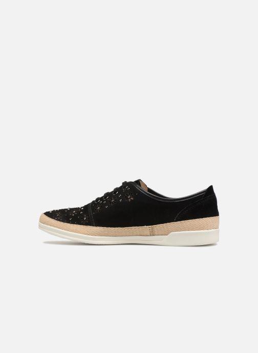 Sneakers Caprice Ludina Zwart voorkant
