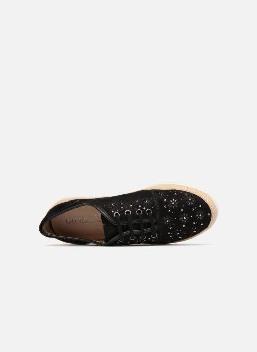 Sneakers Caprice Ludina Zwart links