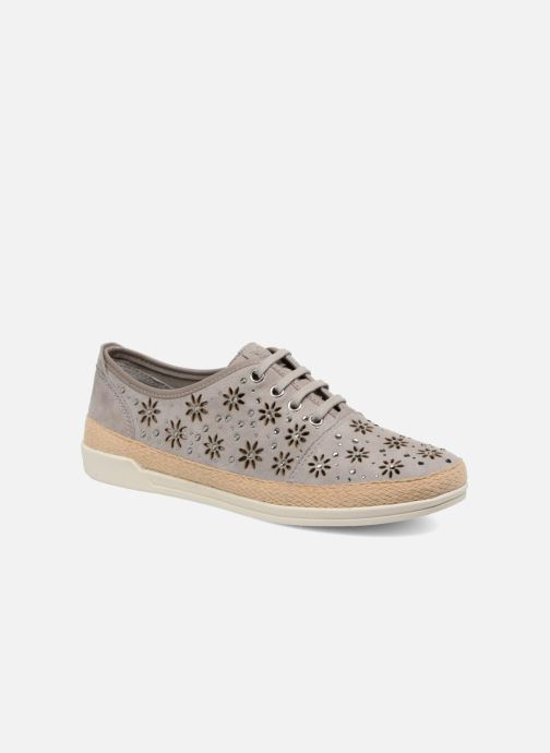 Trainers Caprice Ludina Grey detailed view/ Pair view