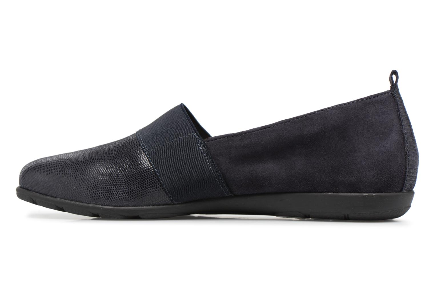 Loafers Caprice Manoa Blue front view