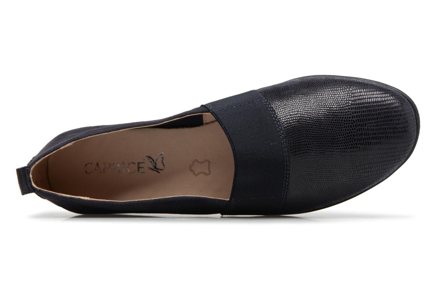 Loafers Caprice Manoa Blue view from the left