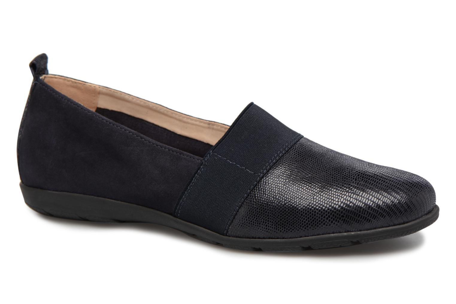 Loafers Caprice Manoa Blue detailed view/ Pair view