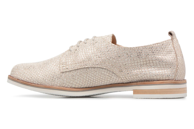 Chaussures à lacets Caprice Hedda Or et bronze vue face