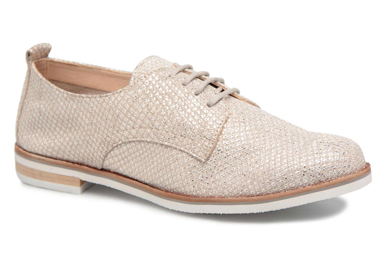 Chaussures à lacets Caprice Hedda Or et bronze vue détail/paire