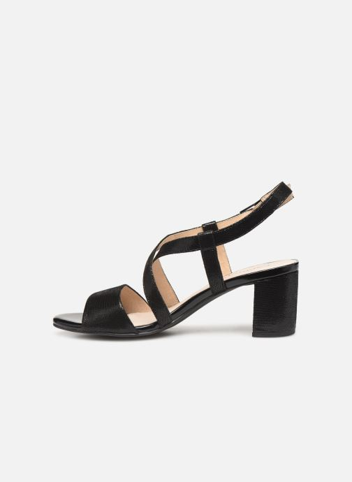 Sandals Caprice Edison Black front view