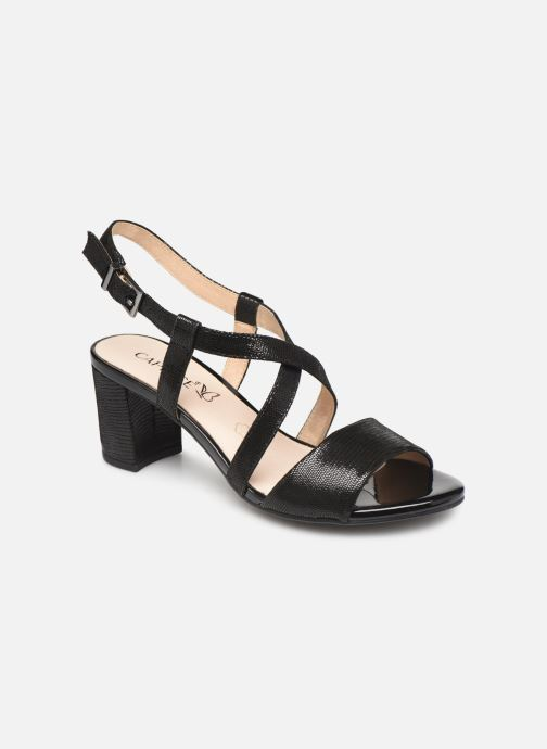 Sandals Caprice Edison Black detailed view/ Pair view