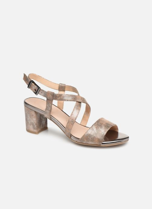 Sandales et nu-pieds Caprice Edison Beige vue détail/paire