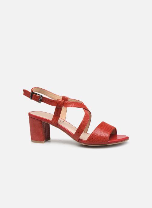 Sandales et nu-pieds Caprice Edison Rouge vue derrière