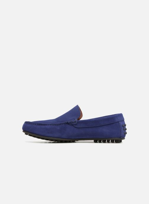 Mocassins Marvin&Co Suttino Bleu vue face