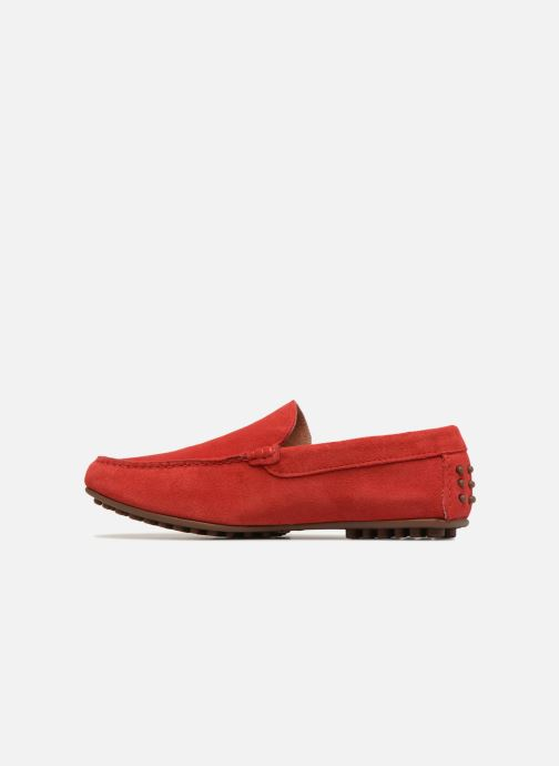 Mocassins Marvin&Co Suttino Rouge vue face