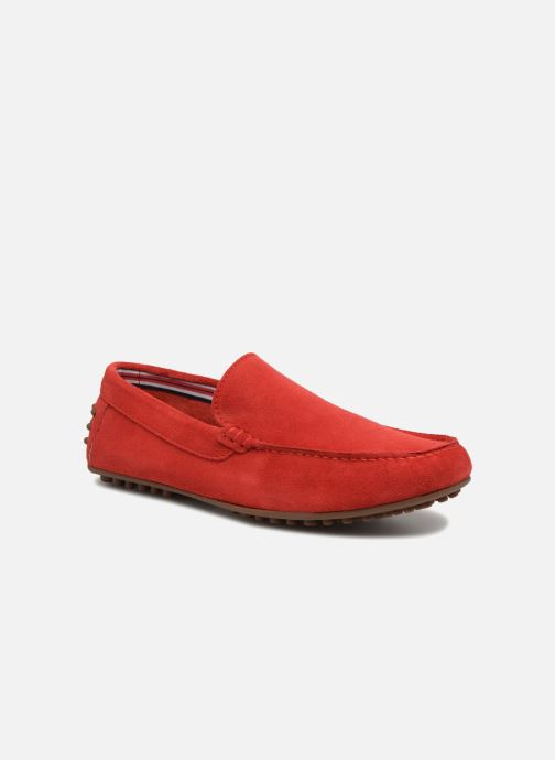 Mocassins Marvin&Co Suttino Rood detail