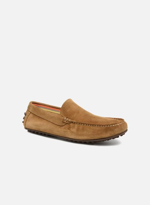 Loafers Marvin&co Suttino Beige detailed view/ Pair view