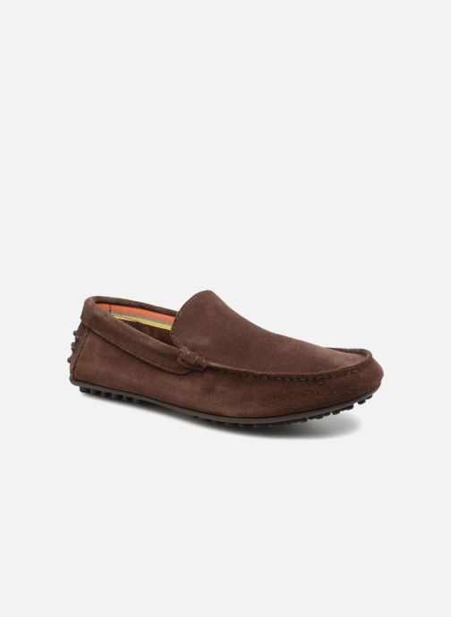 Loafers Marvin&co Suttino Brown detailed view/ Pair view