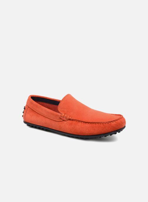 Mocassins Marvin&Co Suttino Orange vue détail/paire