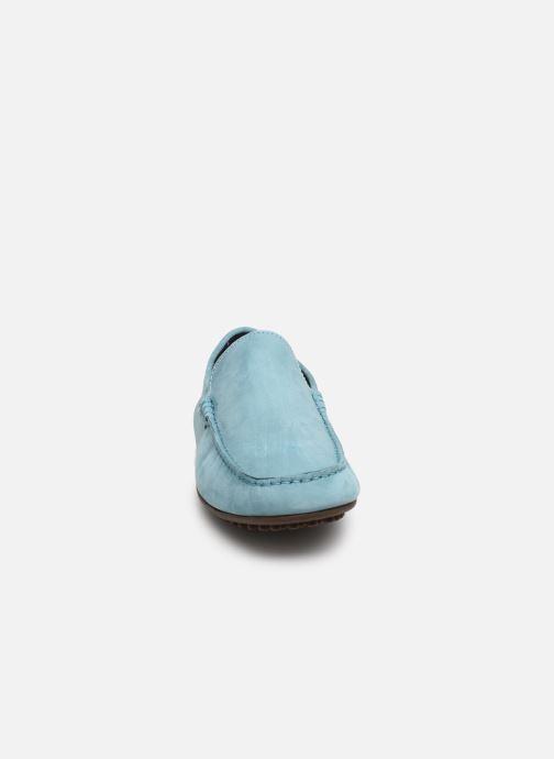 Slipper Marvin&Co Suttino blau schuhe getragen
