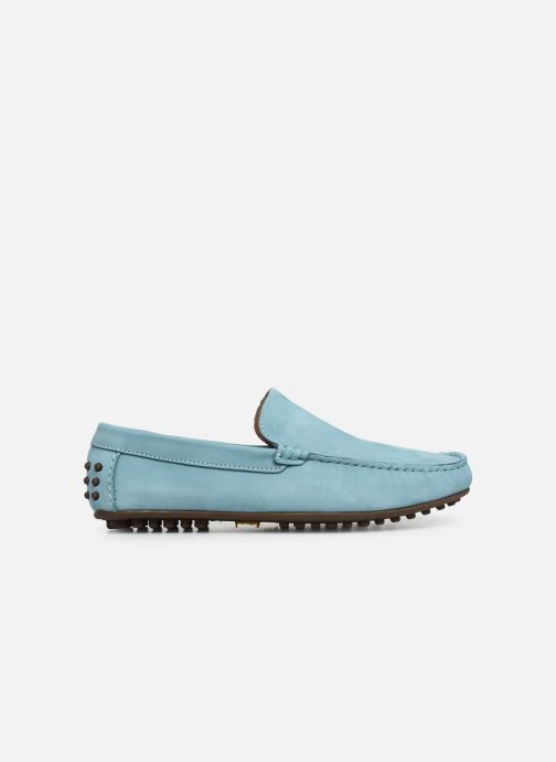 Mocasines Marvin&Co Suttino Azul vistra trasera