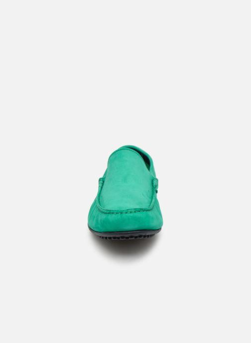 Mocassini Marvin&Co Suttino Verde modello indossato