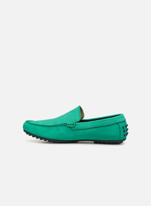 Mocassins Marvin&Co Suttino Vert vue face
