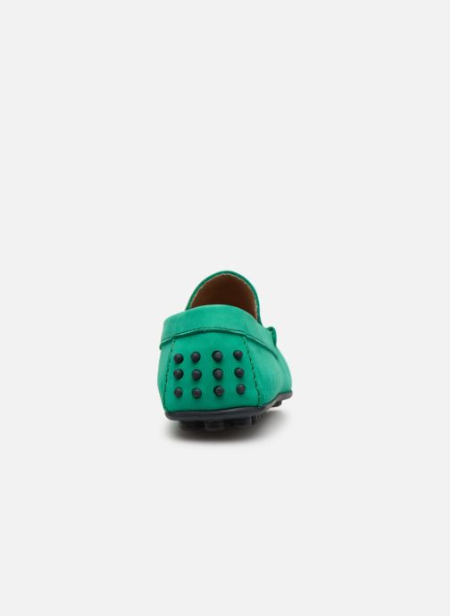 Mocasines Marvin&Co Suttino Verde vista lateral derecha