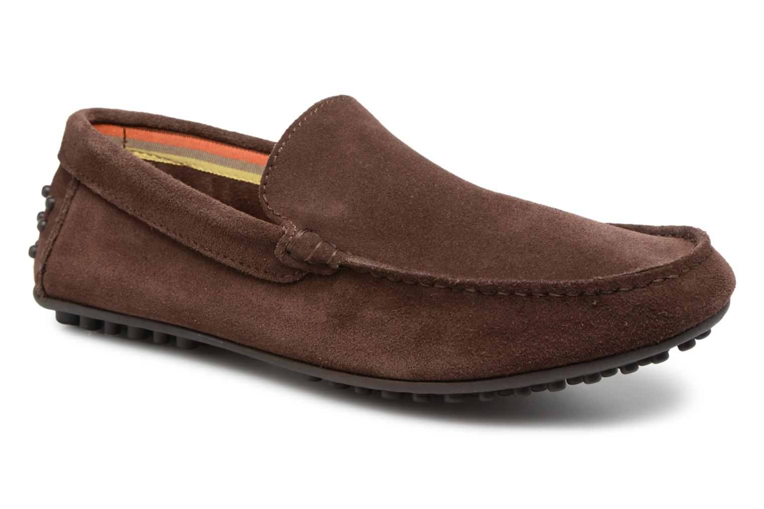 Mocassins Marvin&Co Suttino Bruin detail