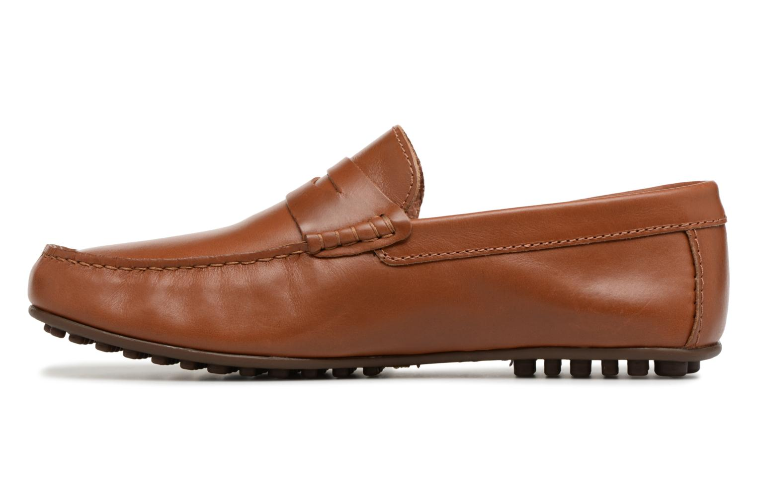 Mocassins Marvin&Co Slowlife Marron vue face