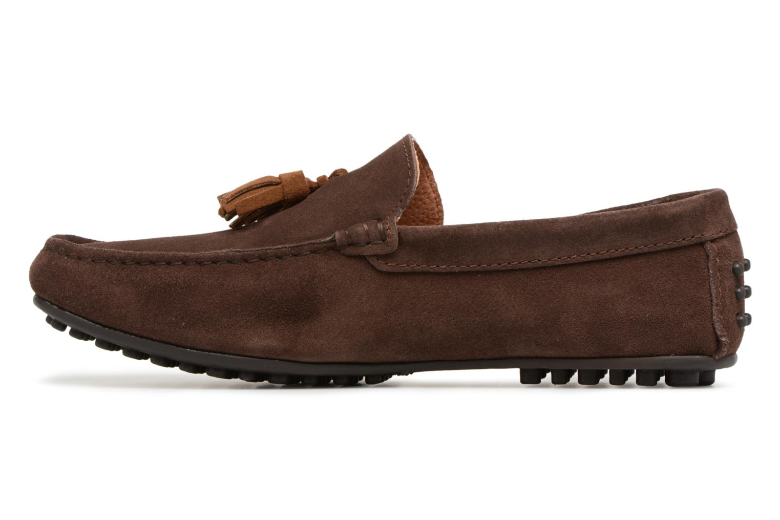 Mocassins Marvin&Co Saddington Marron vue face