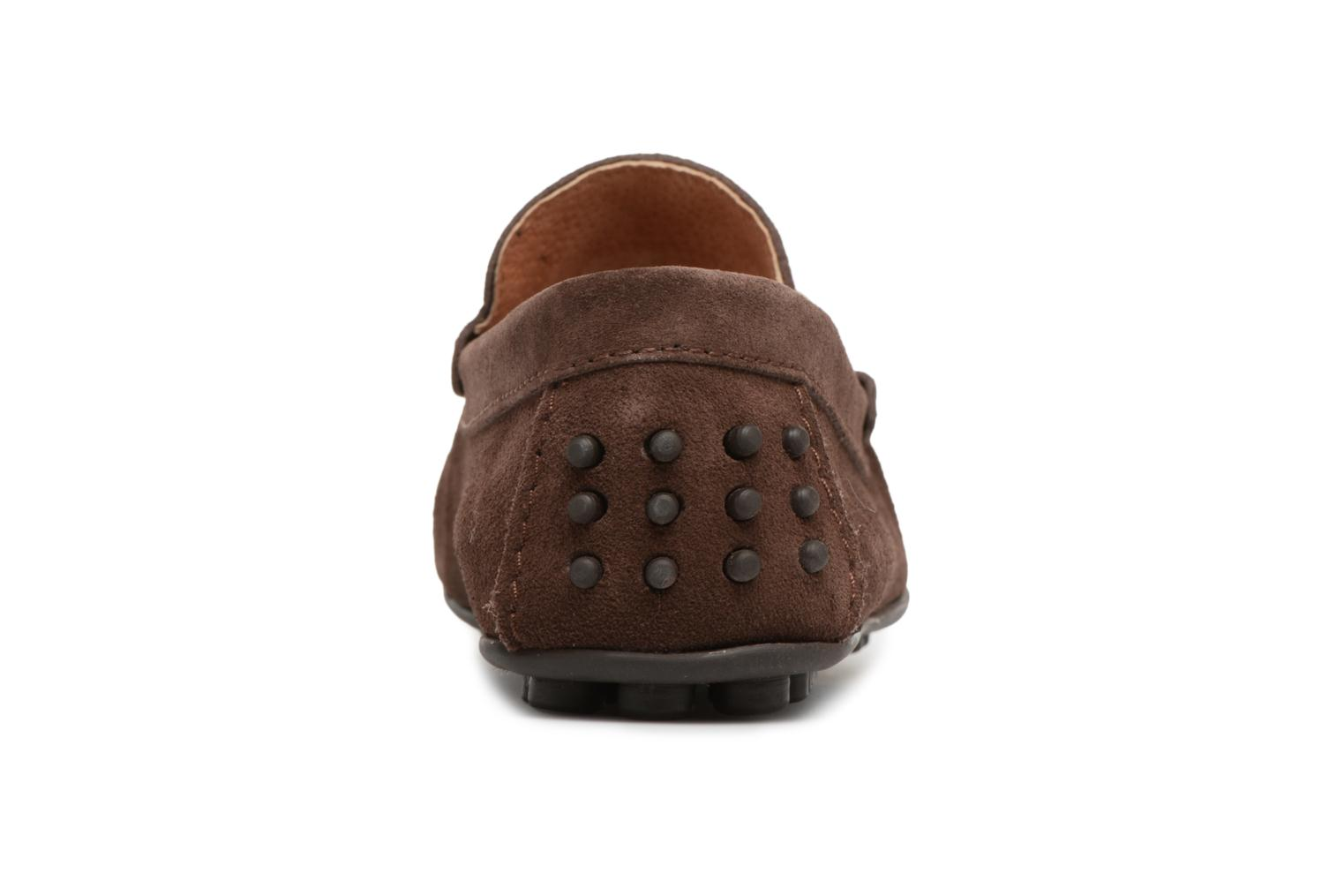 Mocassins Marvin&Co Saddington Marron vue droite