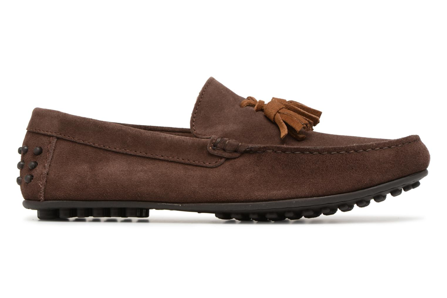 Mocassins Marvin&Co Saddington Marron vue derrière