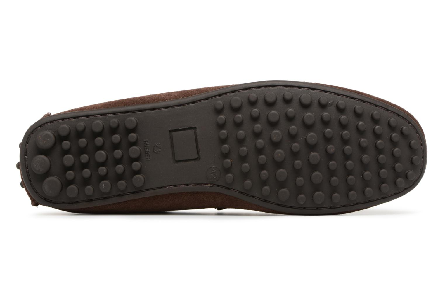 Mocassins Marvin&Co Saddington Marron vue haut