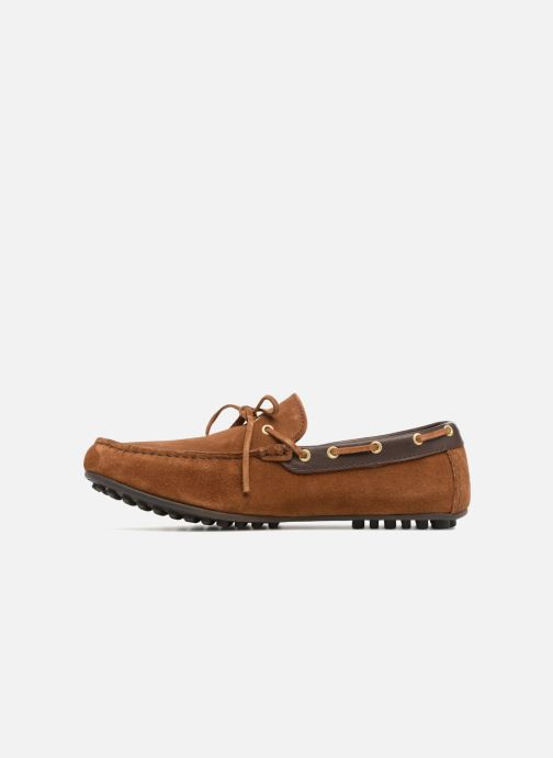Mocassins Marvin&Co Stanford Marron vue face
