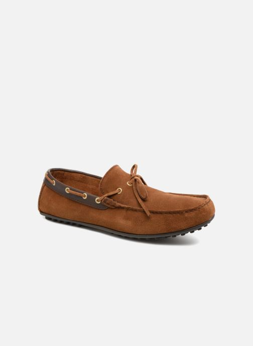 Mocassins Marvin&Co Stanford Marron vue détail/paire
