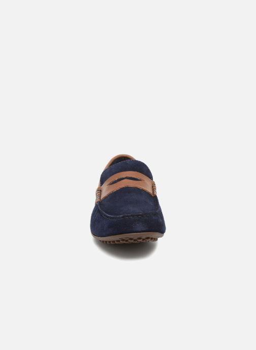 Mocassini Marvin&Co Scotland Azzurro modello indossato