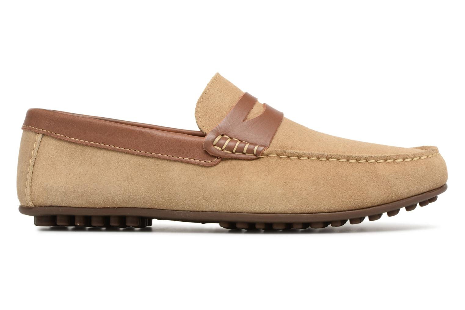 Loafers Marvin&co Scotland Beige back view