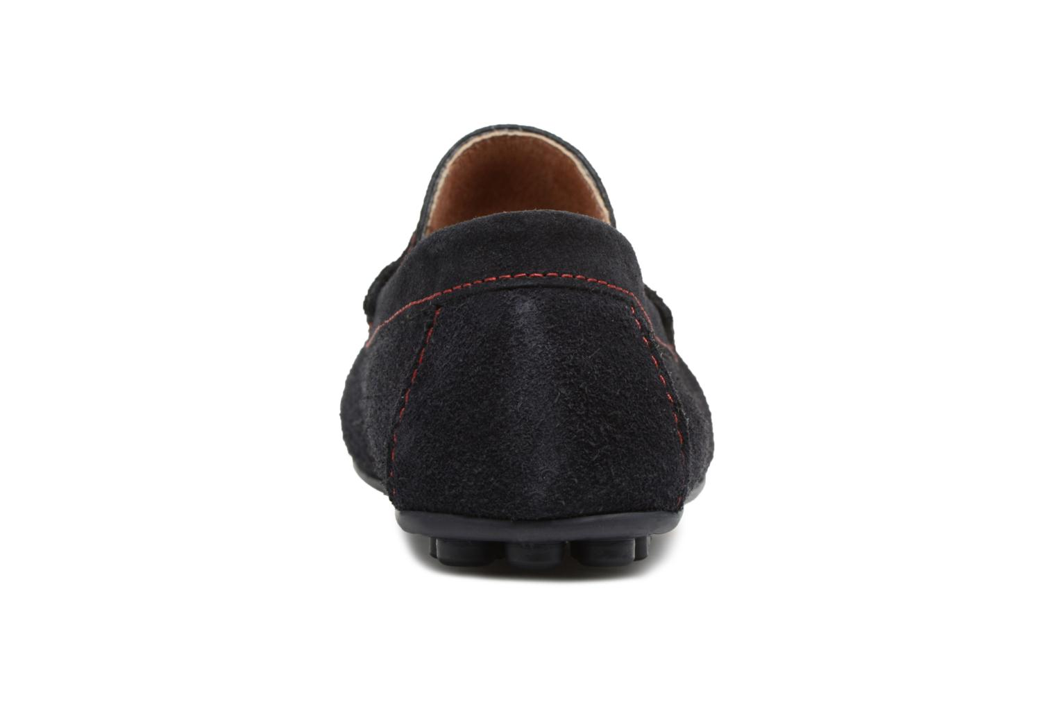 Loafers Marvin&co Spat Blue view from the right