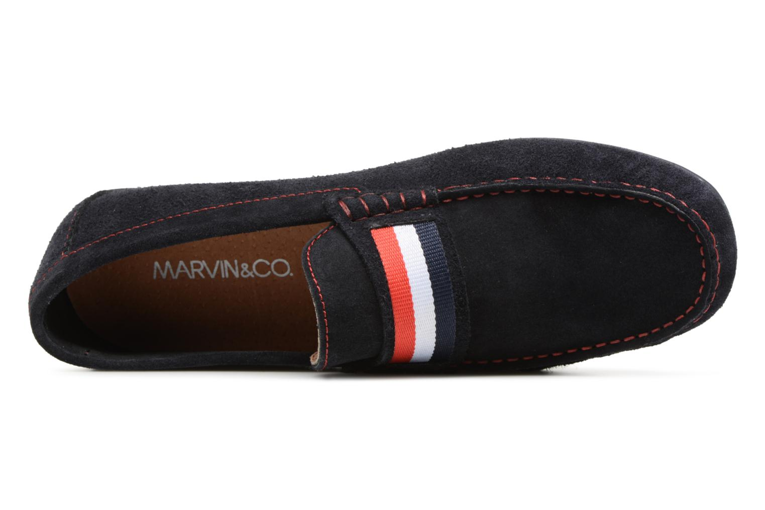 Loafers Marvin&co Spat Blue view from the left
