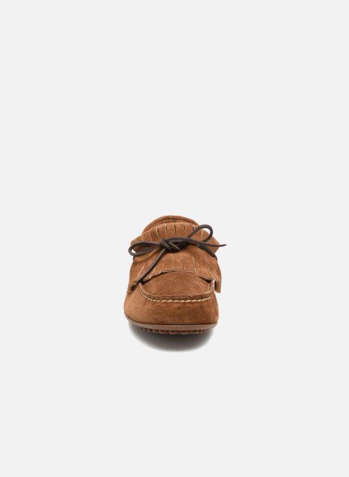Mocassins Marvin&Co Sfringe Marron vue portées chaussures