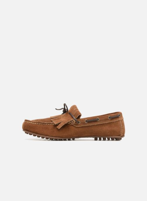 Mocassins Marvin&Co Sfringe Marron vue face