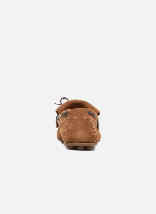 Mocassins Marvin&Co Sfringe Marron vue droite