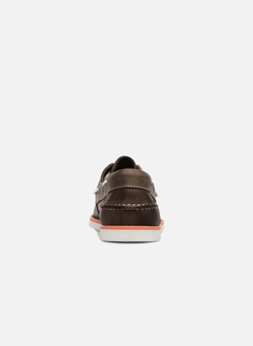 Chaussures à lacets Marvin&Co Sailboat Marron vue droite