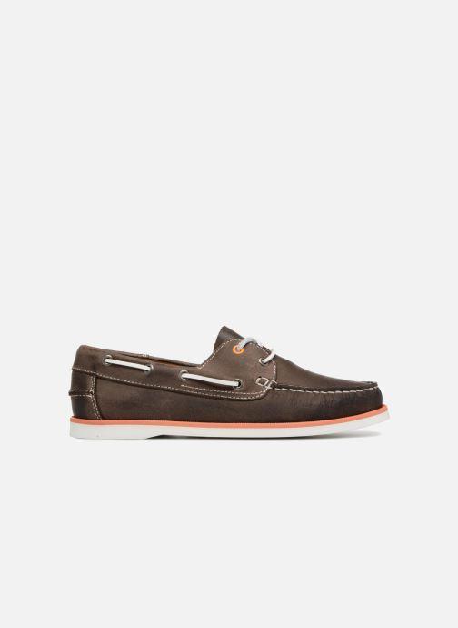 Zapatos con cordones Marvin&Co Sailboat Marrón vistra trasera