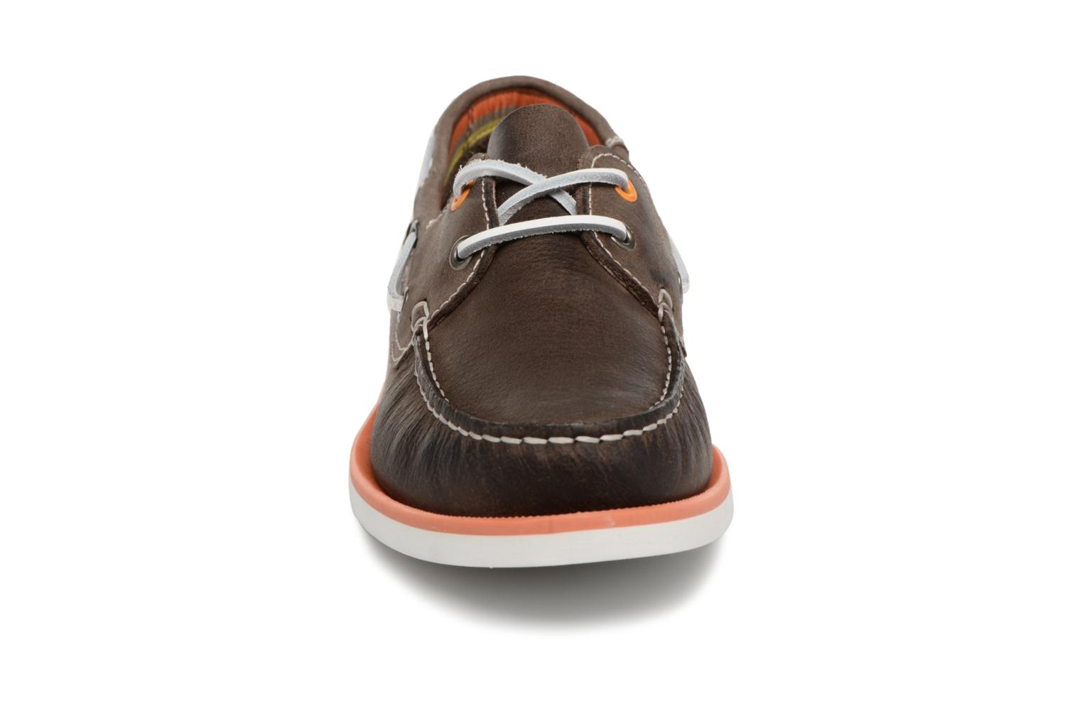 Lace-up shoes Marvin&co Sailboat Brown model view