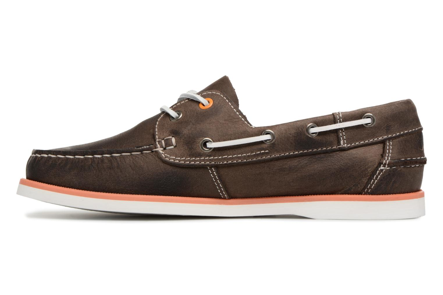 Lace-up shoes Marvin&co Sailboat Brown front view