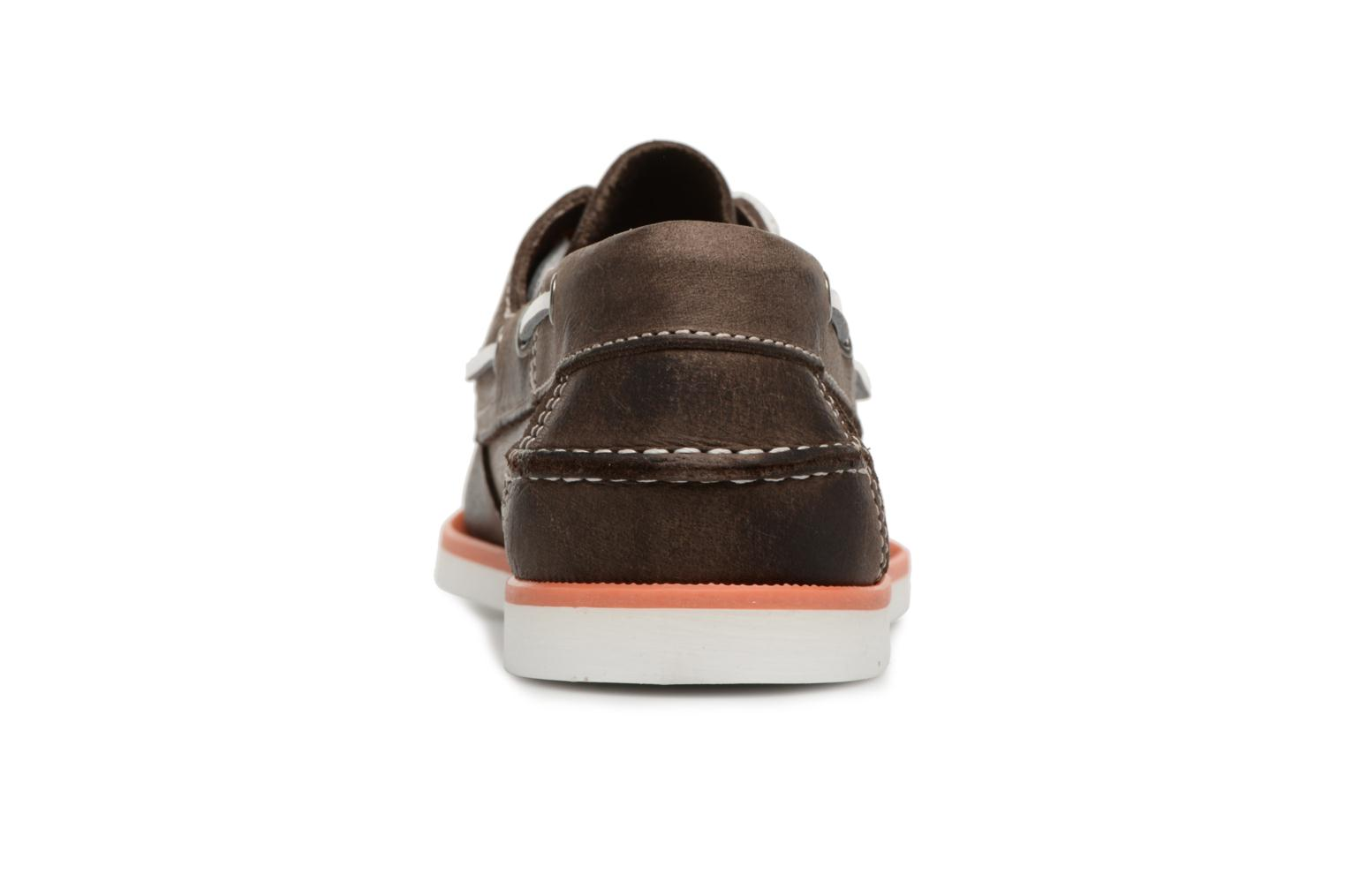 Lace-up shoes Marvin&co Sailboat Brown view from the right