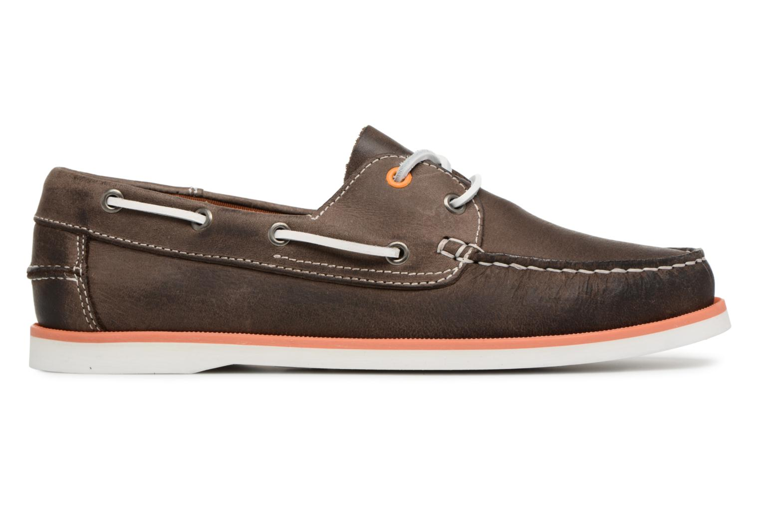 Lace-up shoes Marvin&co Sailboat Brown back view