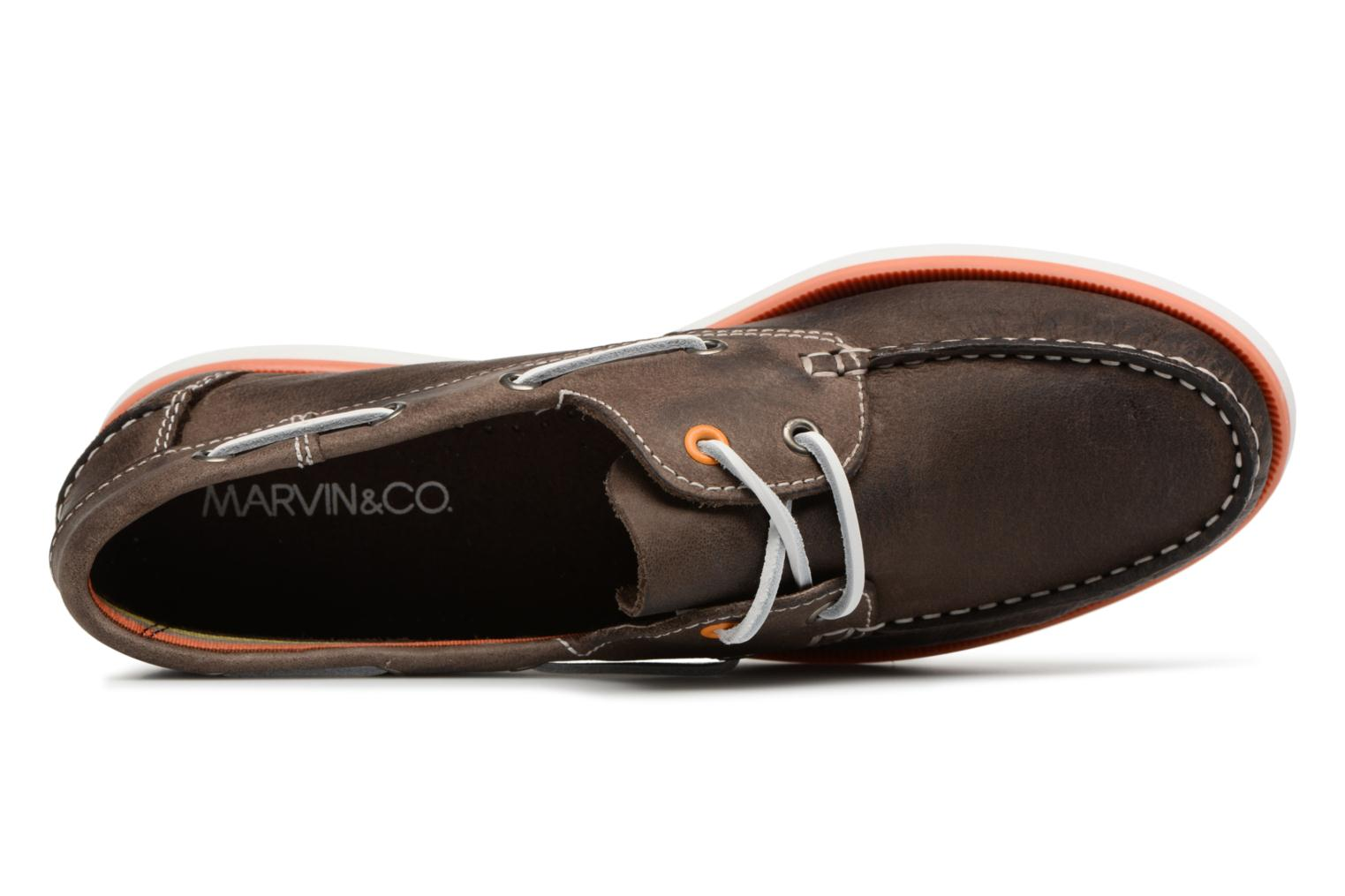 Lace-up shoes Marvin&co Sailboat Brown view from the left